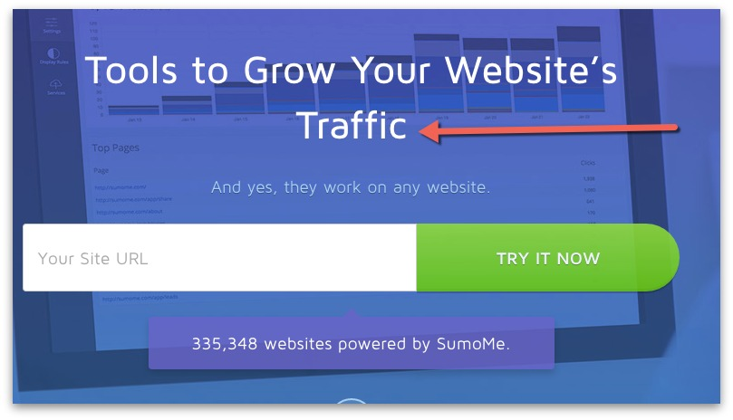 sumome grow website traffic