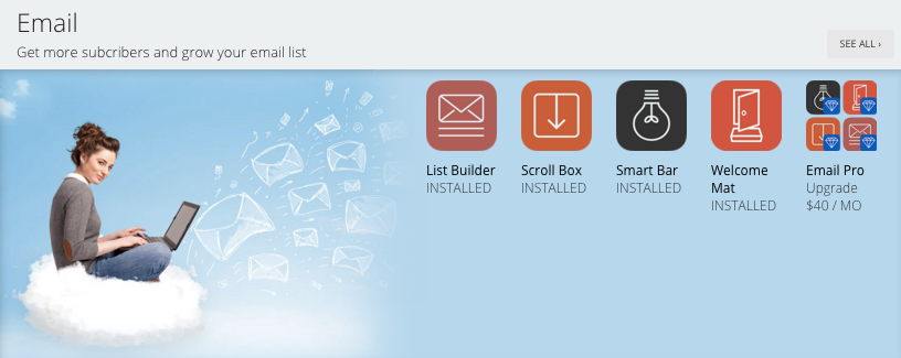 sumo store email tools