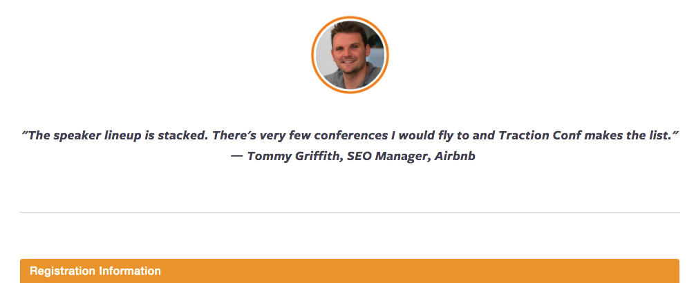 Tommy Griffith, SEO Manager, Airbnb