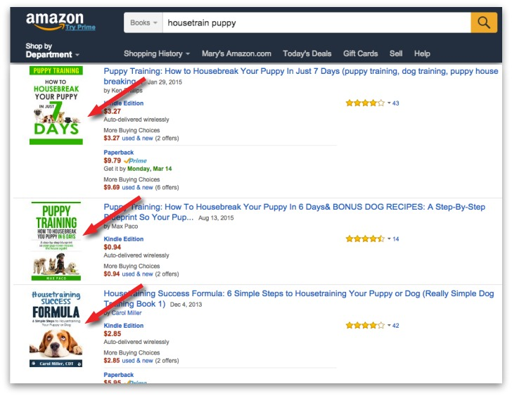 amazon keyword phrase